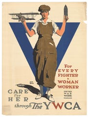 "Adolph Treidler's ""For Every Fighter a Woman Worker"""