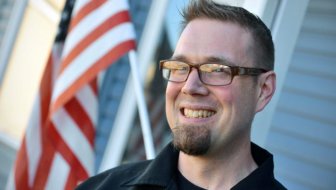 """St. Cloud Air Force veteran Todd Kuikka has written a book that he hopes to get published called """"Veteran Field Manual: Civilian Life 1-1."""""""