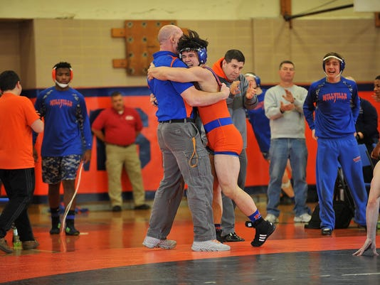 Millville-St. Augustine wrestling
