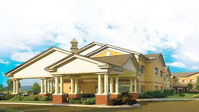 This is a a rendering of Boonespring, the long-term nursing home Carespring Health Care Management is seeking to build in Union. The project cleared a major hurdle this week.