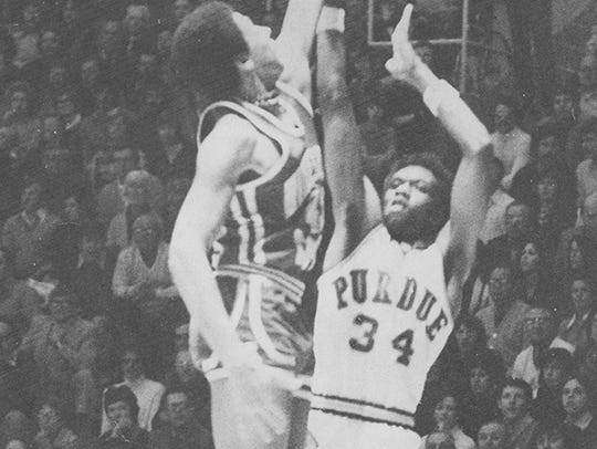 Walter Jordan was a high-scoring forward for Purdue