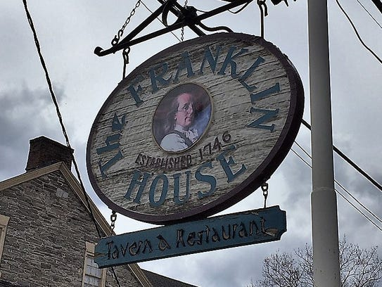 The Franklin House Tavern in Schaefferstown is a nearly
