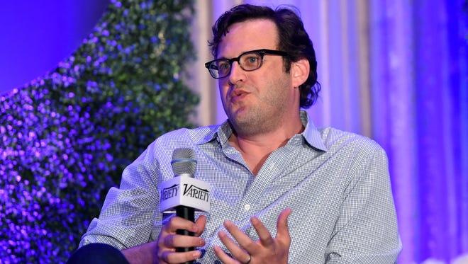 Andrew Kreisberg speaks at Variety's A Night In The Writers' Room on June 9, 2015 in Los Angeles.