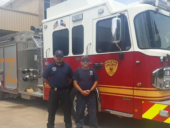 Angelton, Texas Fire Department.