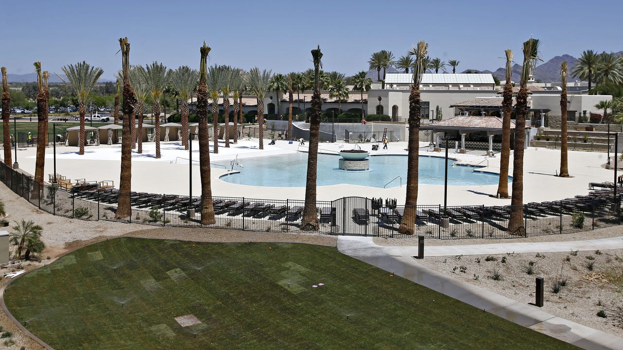 On Memorial Day weekend, The Fairmont Scottsdale Princess opened its newest attraction. Here's what you need to know about Sunset Beach, which has a pool and sand and anchors a new wing of guest rooms. Dawn Gilbertson and Paige Schwahn/The Republic