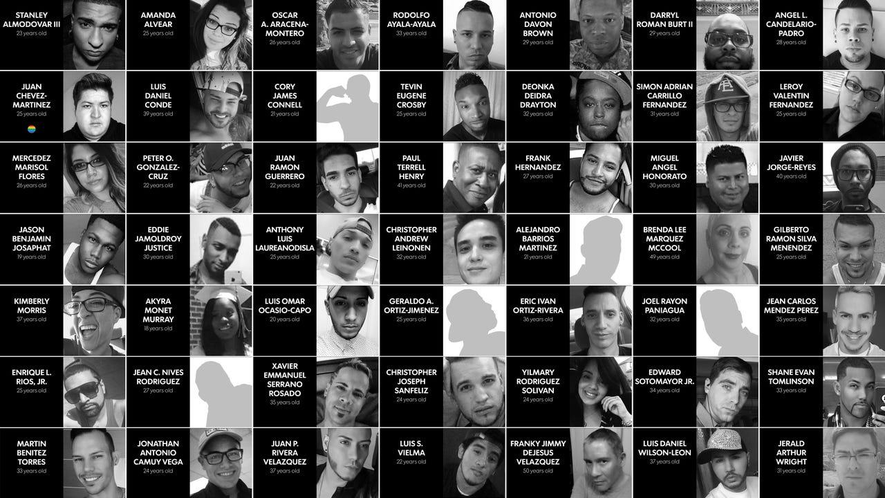 Victims' names ... Victims List Orlando Shooting
