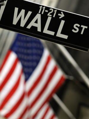 Wall Street, in lower Manhattan