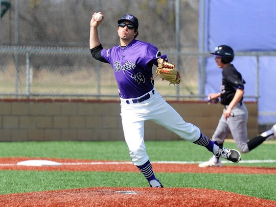 Wylie's Jaxon Hansen (39) started as a freshman last season and will be one of five returning starters available at the beginning of this season. Hansen played third base and pitched a year ago.
