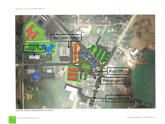 Sherwood's planned downtown redevelopment is west of