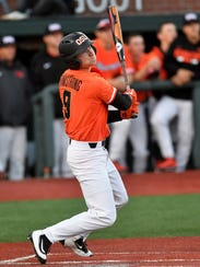 OSU's Andy Armstrong, a West Salem High School graduate, entered Saturday's game at Utah on a 12-game hitting streak.