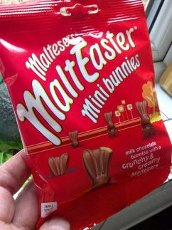 Easter, the most important Christian festival of the year, seems to be quietly disappearing, as far as chocolate eggs are concerned. You have to hunt hard for references to 'Easter' on the packaging of products that sell in their millions at this time of the year.