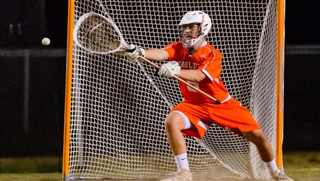 Senior goalie Matt Butler is a captain on an experienced Mauldin team that began the season with six victories.