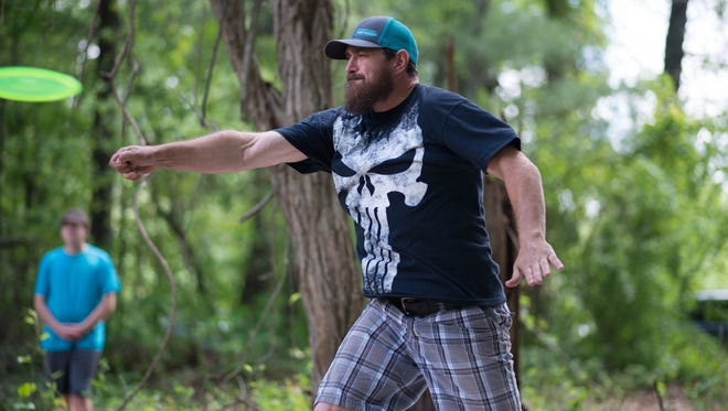 """Disc golf is a fun and simple way to enjoy a lifelong low-impact sport without burdening the environment or taxpayers,"" said Raymond Thompson, tournament organizer and Green Built Alliance board member."