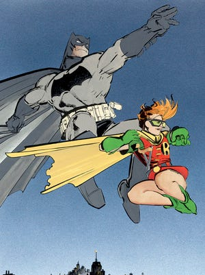 """Frank Miller's """"The Dark Knight Returns"""" in the 1980s influenced Batman movies and comic books that came after it."""