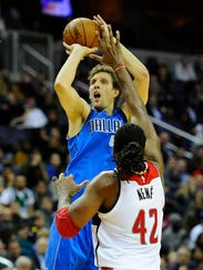 Dirk Nowitzki has played for the Mavericks his entire