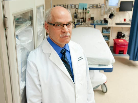 Ray Keller, medical director of the Emergency Department at the University of Vermont, Fletcher-Allen Healthcare
