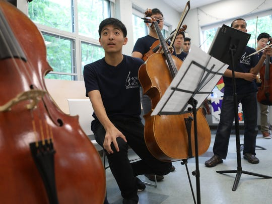 """Lee's plans for the summer include mastering the Kodály sonata for cello, a particularly tricky piece by the Hungarian composer Zoltán Kodály. """"This is how you become great at whatever you do,"""" Lee said. """"It's all about hard work and passion."""""""