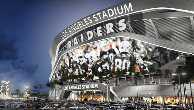 The Raiders and Chargers could share a stadium in the Los Angeles suburb of Carson.