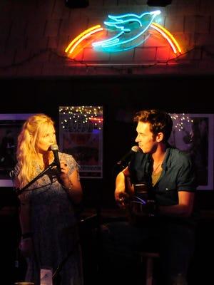 "ABC ""Nashville"" actors Clare Bowen and Sam Palladio"