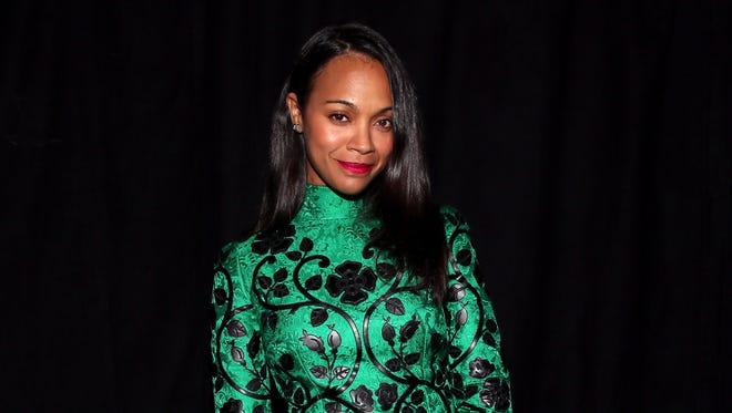 Zoe Saldana attends Spike TV's Guys Choice 2015 at Sony Pictures Studios on June 6, 2015 in Culver City, Calif.