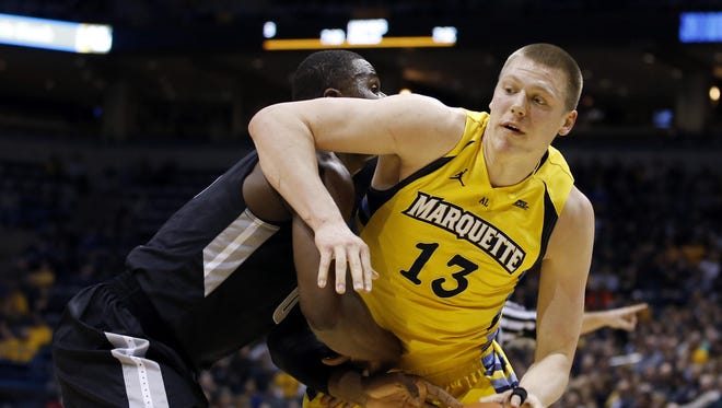 Freshman Henry Ellenson averaged 17 points and nearly 10 rebounds for Marquette last season.