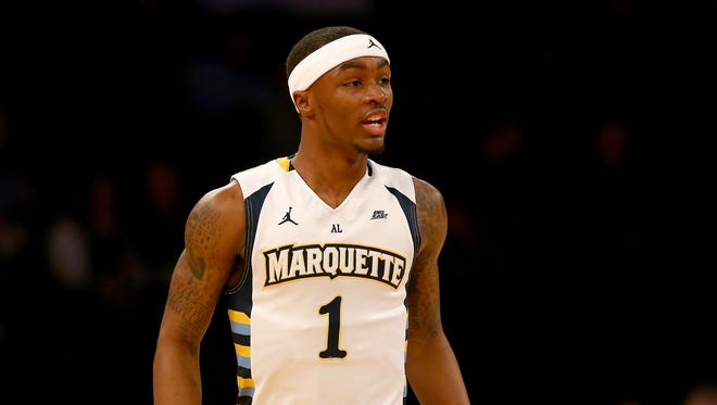 Marquette guard Duane Wilson, who played at Whitefish Bay Dominican, looks forward to playing against former Brookfield Central star Riley LaChance, who plays for Vanderbilt.