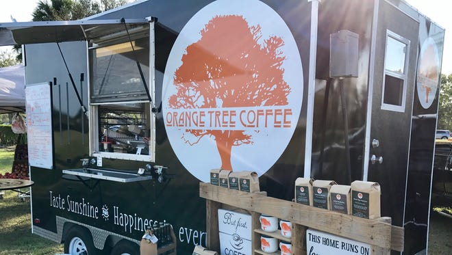 Orange Tree Coffee's full-service coffee truck debuted last week serving Fort Myers, Cape Coral and beyond.