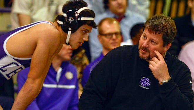 Longtime Christian Brothers High wrestling coach Chris Lewis is headed across town to coach Memphis University School.