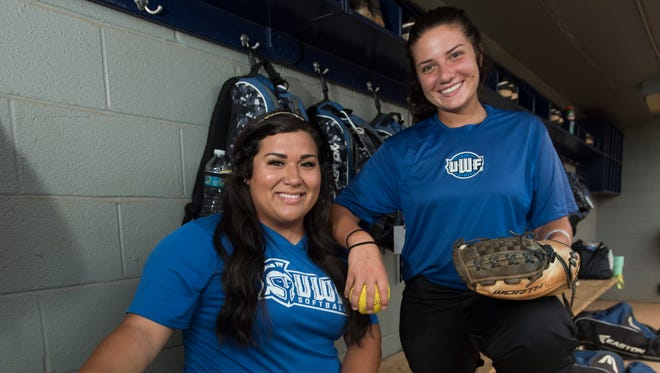 UWF starting first baseman, Kathleen Smiley, brought power to Argos offensive game but a mid-season knee injury ended her season, leaving senior, Jacey Castro, to fill the void.