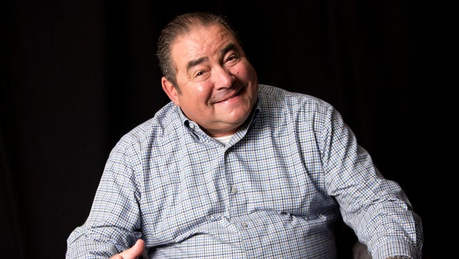 """FILE - In this Aug. 23, 2016, file photo, Emeril Lagasse poses for a portrait in promotion of his television show 'Eat the World' in New York. In Florida, a television producer for """"Emeril's Florida"""" show is fighting a subpoena from legislators seeking records detailing how the show spent millions of dollars it received from the state's tourism agency. Producer Pat Roberts asked a federal judge on Tuesday, Jan. 16, 2018, to block the subpoena. (Photo by Brian Ach/Invision/AP, File)"""