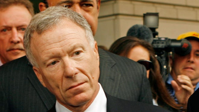 Scooter Libby, chief of staff to then-Vice President Cheney, in 2007.