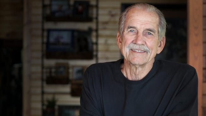 Menasha native Fred Flom, shown at age 77,  was a fighter pilot in Vietnam and held prisoner for more than six years after being shot down. He died June 23. He was 80.