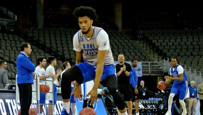 Where will Duke Blue Devils forward Marvin Bagley III be picked in the 2018 NBA draft? NBA mock drafts don't agree.