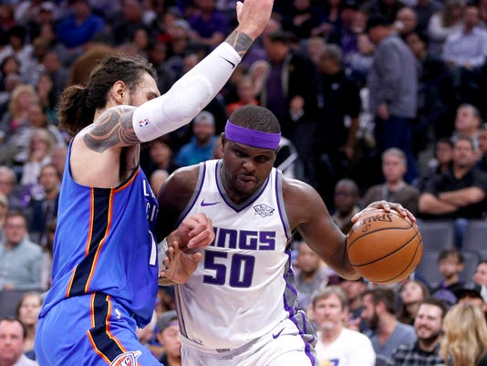 NBA Oklahoma City Thunder at Sacramento Kings