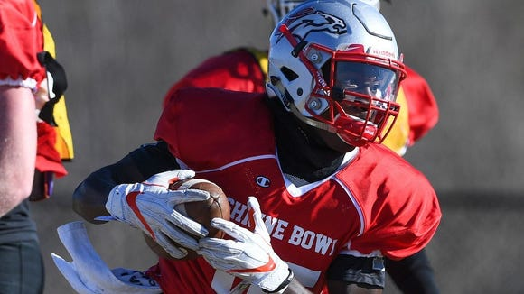 Derion Kendrick, South Pointe's quarterback and a Clemson commit as a wide receiver, gives the Sandlappers a versatile threat in the Shrine Bowl.