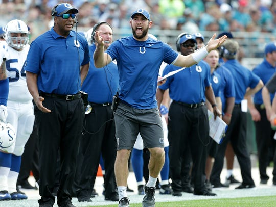 Andrew Luck watching from the sideline that day in Jacksonville became a recurring theme for the Colts.