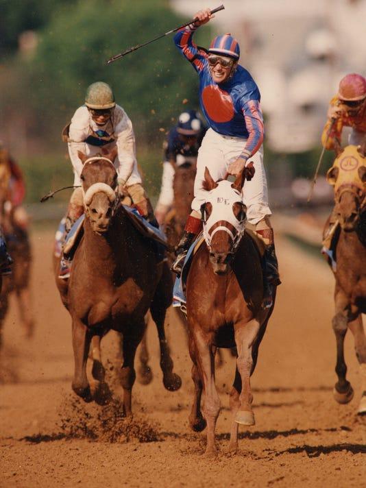 1995 KENTUCKY DERBY WINNER THUNDER GULCH