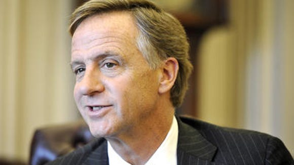 Gov. Bill Haslam flagged 11 of the 27 gun-related bills up for debate Tuesday in a Senate committee.
