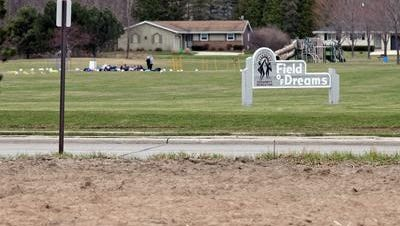 The SASD has altered its plan to build new fields on the land across from the Field of Dreams.