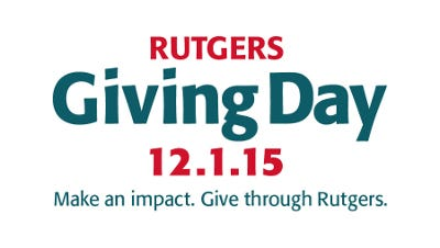 Rutgers' goal is to  raise $500,000 through 1,500 gifts or more on Giving Day