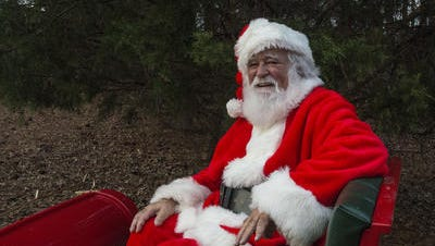 Santa made an appearance in his sled at Christmas in the Park (A Little on the WILD Side) at the Charles E. Bailey Sportsplex, 1685 Arena Road, Alexander City, Ala., on Saturday, Dec. 12, 2015. The Prattville Progress is once again helping local children send in their letters to Santa Claus.