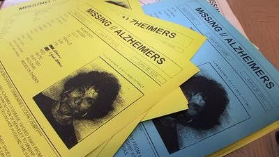 Missing persons flyers for Julia Madsen.