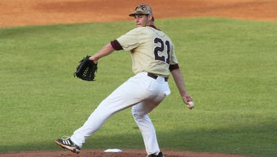 Pitcher Chris Hunt will return to the role of Friday night starter for ULM on the road at Arkansas State.