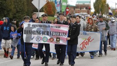 The annual Veterans Day Parade, hosted by American Legion Post No. 639, is Saturday in downtown Springfield.