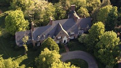 The Drumanard Estate, 6401 Wolf Pen Branch Road, is shown in 2012.