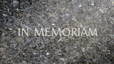 Obituaries are at www.legacy.com/obituaries/