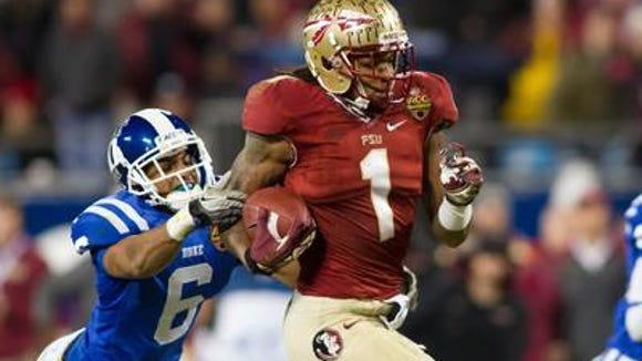 The Eagles might be tempted to take Florida State wide receiver Kelvin Benjamin in the 2014 NFL Draft.