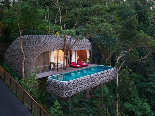 The Bird's Nest Pool Villa at Keemala, a very cool stay in Phuket, Thailand.