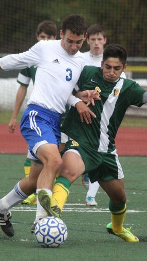Lakeland's Johnny Denis (right) during the second annual