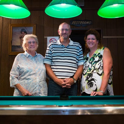 Harry Dice, who own's Dice's in Staunton, stands for